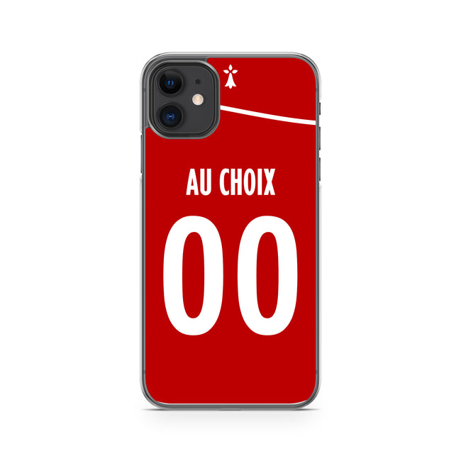 COQUE DE FOOT LIGUE 1 PERSONNALISABLE - BREST