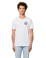 "T-shirt Homme "" Broderie Coeur Ré "" Collection Réthaise."