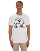 "T-shirt Homme "" Le véritable et authentique Rétais "" Collection Réthaise."