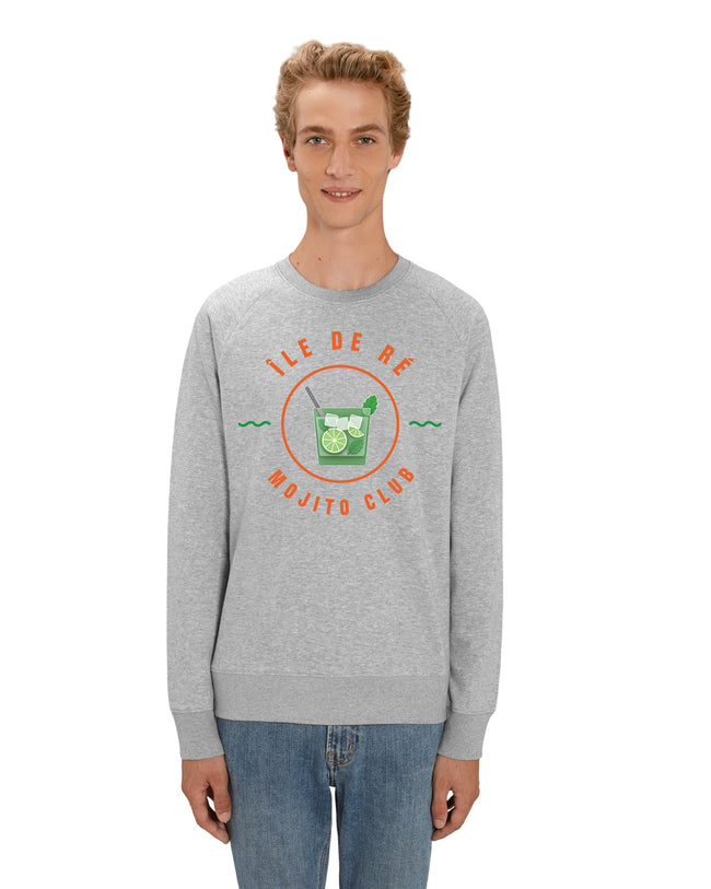 "Sweatshirt Homme "" île de ré - Mojito Club "" Collection Réthaise."