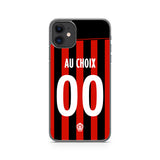 COQUE DE FOOT LIGUE 1 PERSONNALISABLE - OGC NICE