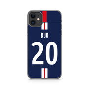 COQUE DE FOOT LIGUE 1 PERSONNALISABLE - PARIS SAINT GERMAIN