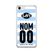 COQUE DE RUGBY TOP 14 PERSONNALISABLE - RACING 92