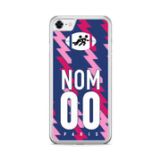 COQUE DE RUGBY TOP 14 PERSONNALISABLE - STADE FRANCAIS PARIS