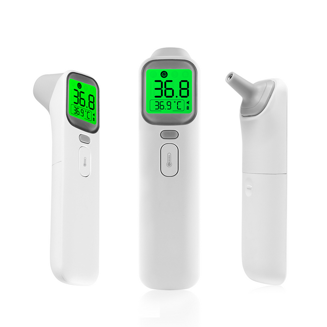 Thermomètre Infrarouge 2en1 avec Ecran Led