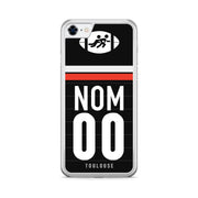 COQUE DE RUGBY TOP 14 PERSONNALISABLE - TOULOUSE