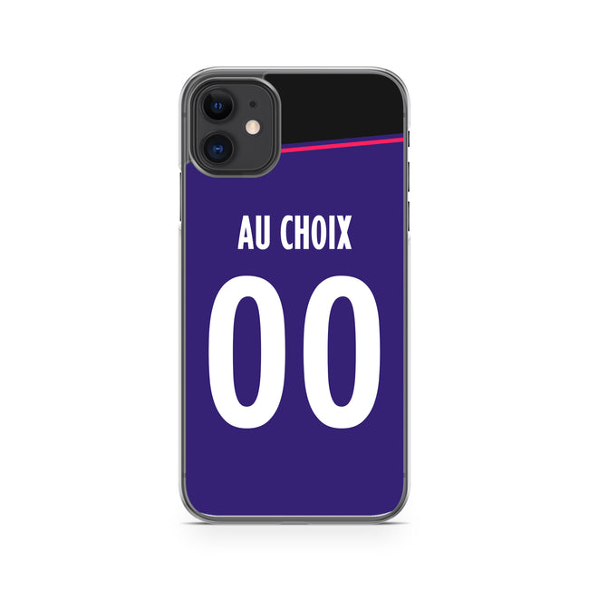 COQUE DE FOOT LIGUE 1 PERSONNALISABLE - TOULOUSE