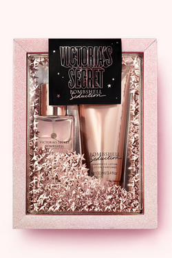 Victoria's Secret Bombshell Seduction Mist + Lotion Gift Set | BeeBabe.com