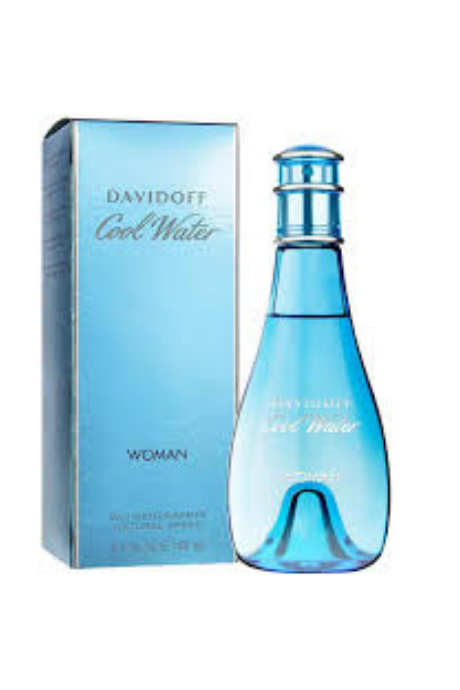 DAVIDOFF Cool Water Woman Eau De Toilette (EDT) Deodorant 100ml | BeeBabe.com