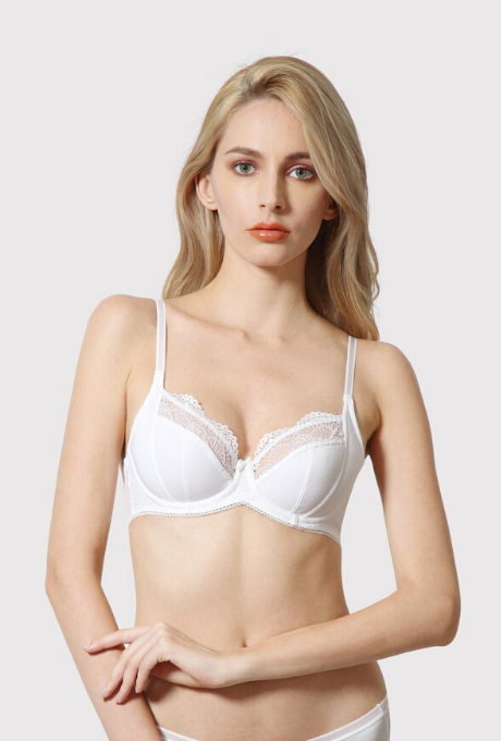 Van Heusen Padded Wired Lace Tipped Bra | BeeBabe.com