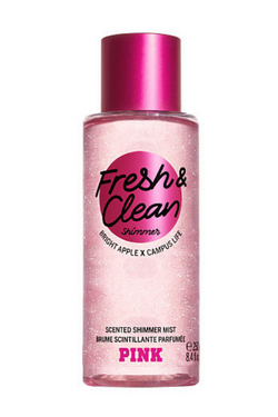 Victoria's Secret Fresh & Clean Scented Shimmer Mist | BeeBabe.com