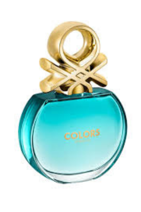 United Colors of Benetton Colors De Benetton Eau De Toilette, Blue, 80ml | BeeBabe.com