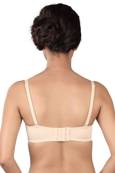 Triumph Lightly Padded Wired T-Shirt Bra -Beige | BeeBabe.com
