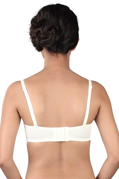 Triumph Lightly Padded Wired T-Shirt Bra - White | BeeBabe.com