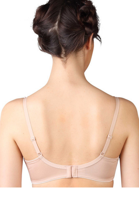 Triumph Lightly Lined Minimiser Bra -Beige | BeeBabe.com