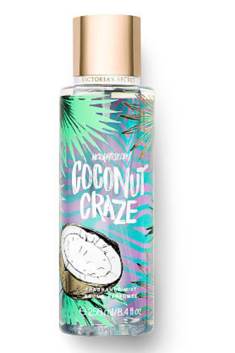Victoria's Secret Coconut Craze Juice Bar Fragrance Mists | BeeBabe.com