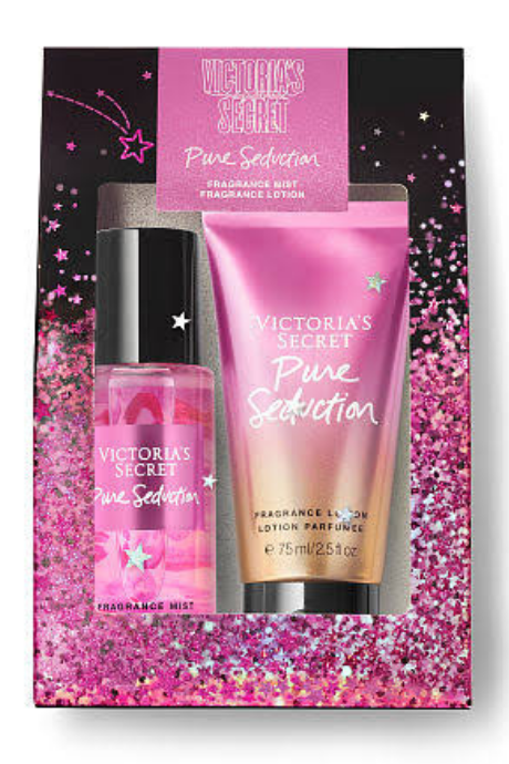 Victoria's Secret Pure Seduction Mini Mist + Lotion Gift Set | BeeBabe.com