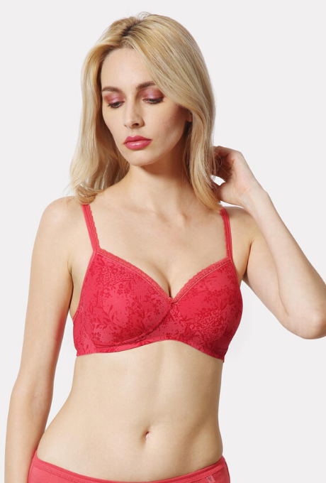 Van Heusen Printed Non Wired Padded Bra | BeeBabe.com