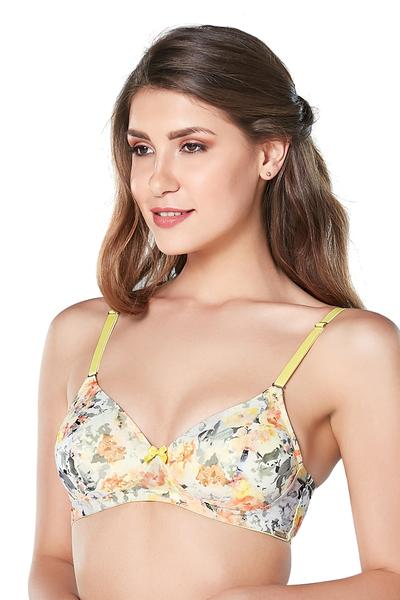 Amante Floral Spell Non-wired Padded Bra | BeeBabe.com