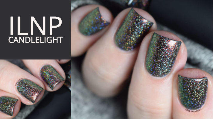 ILNP Candlelight holographic nail polish