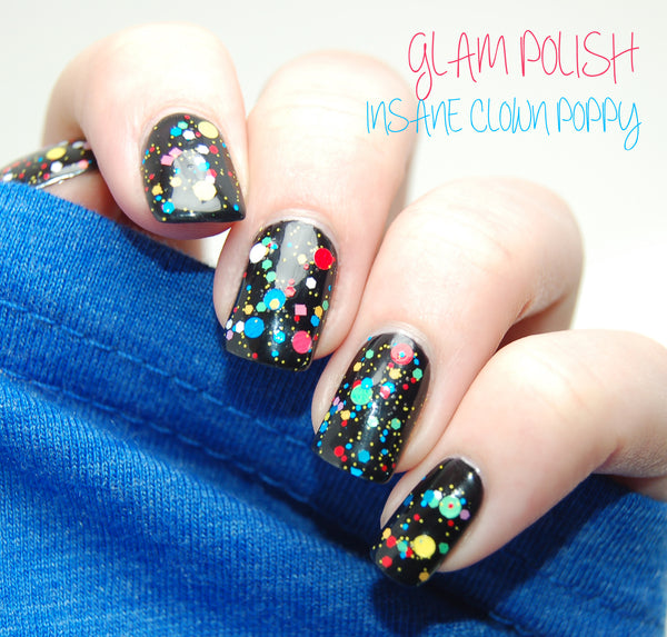 Glam Polish Insane Clown Poppy