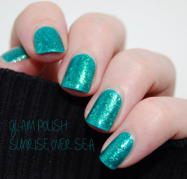 Glam Polish Sunrise Over Sea