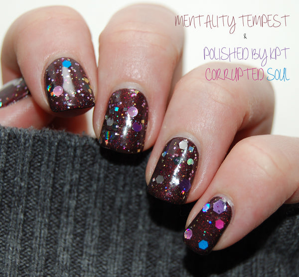 Polished by KPT Corrupted Soul Mentality Nail Polish Tempest