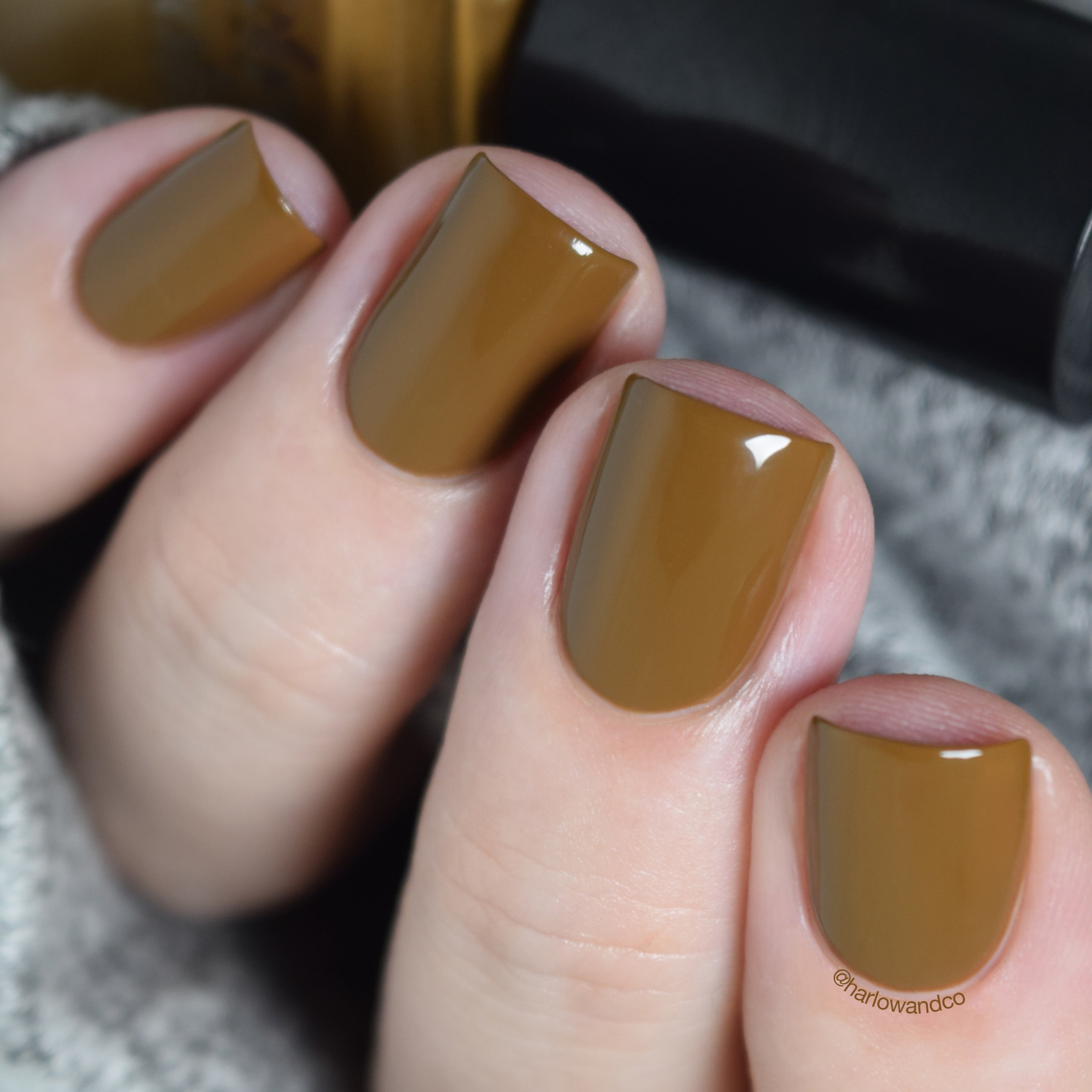 Cirque Colors Walk on the Wild Side olive green brown creme nail polish Metropolis FW18 Collection