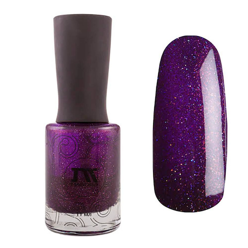 Masura Euphoria violet holographic nail polish Golden Collection