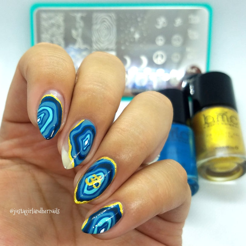 Artist Collab x Just A Girl and Her Nails Stamping Plate