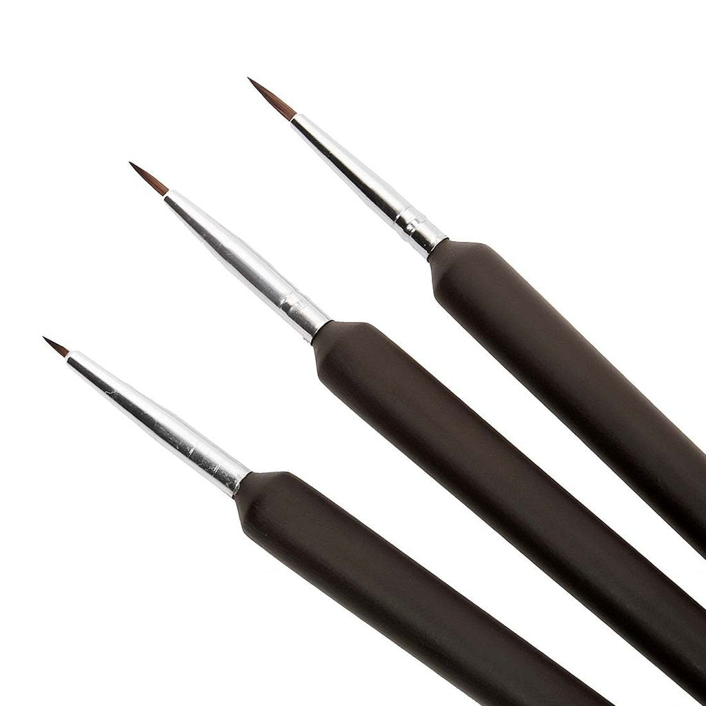 Ergonomic Nail Art Detail Brushes