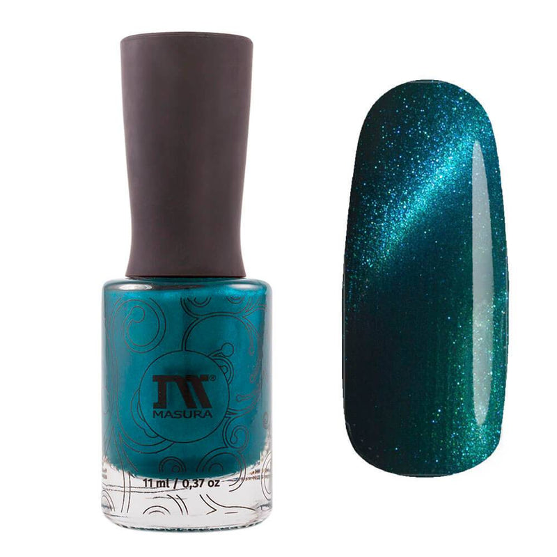 Masura Paradise magnetic nail polish Glare on the Water Collection