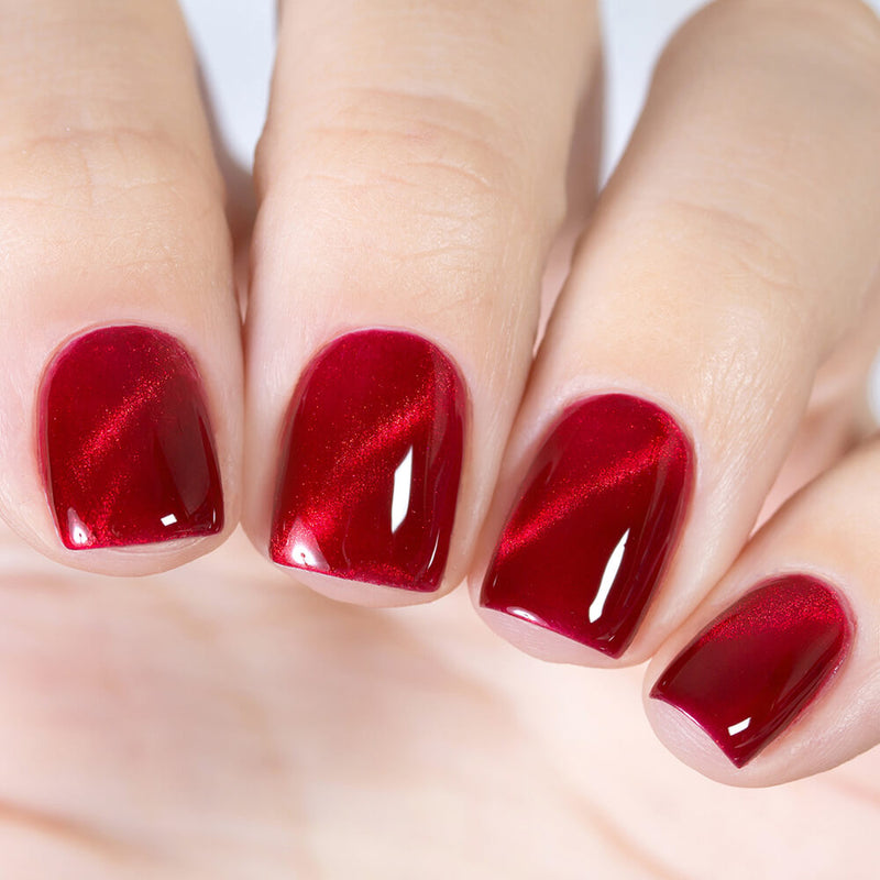 Masura Cranberry magnetic nail polish Precious Stones Collection