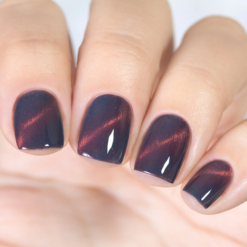 Masura Smoky Purple magnetic nail polish Precious Stones Collection