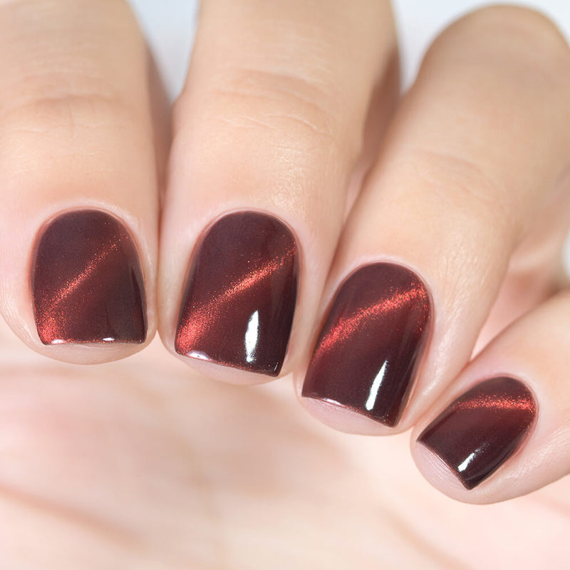 Masura Smoky Coral magnetic nail polish Precious Stones Collection