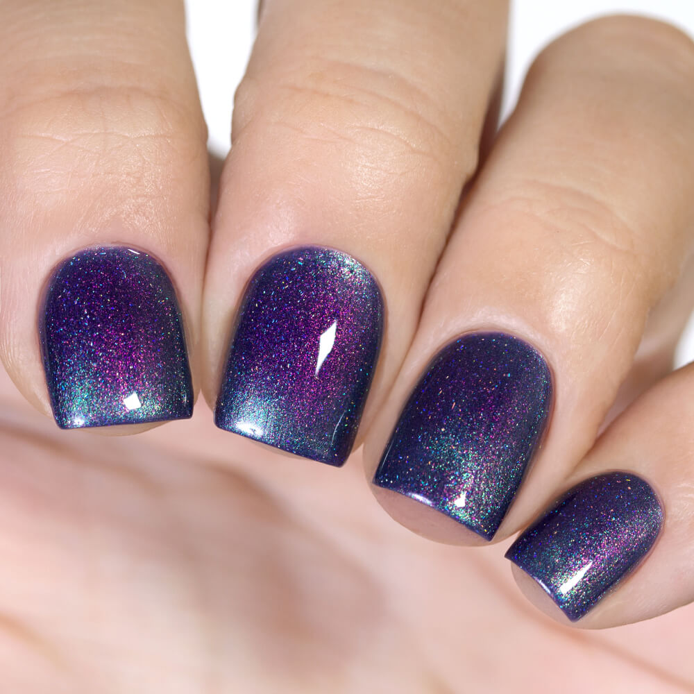 Masura Perseid magnetic nail polish swatch Winter Holidays Collection
