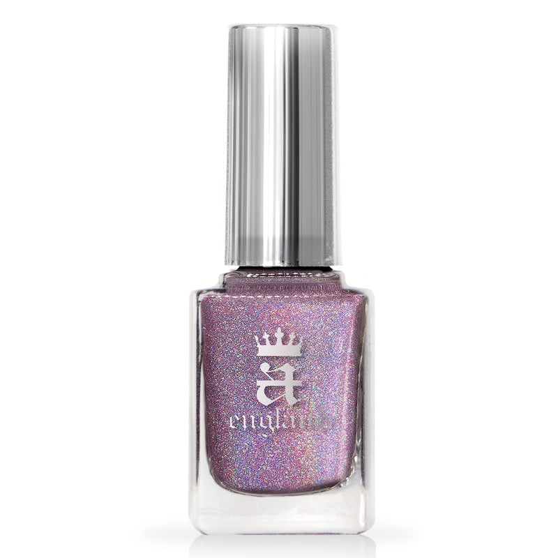 A-England Lady Jane Grey muted lavender holographic nail polish
