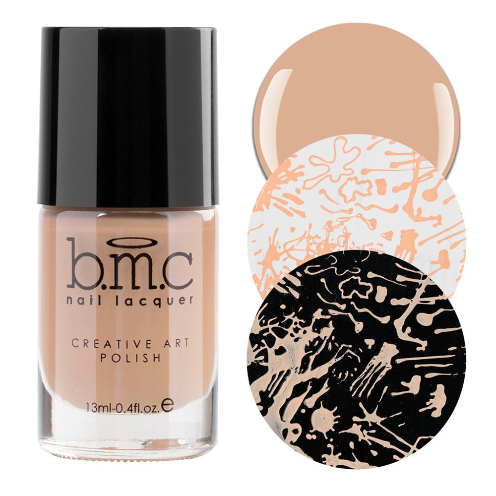 Bundle Monster Boo Ya nude stamping nail polish