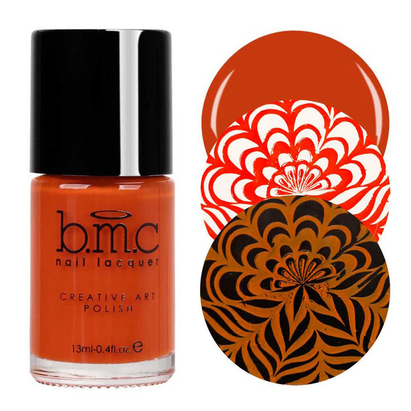 Bundle Monster Cinnamon Sweets stamping nail polish