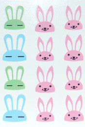 Easter Bunny Water Decals