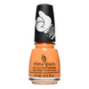 China Glaze Delta Darlin' dusty orange creme nail polish Trolls World Tour Collection