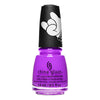 China Glaze Funky Beat vibrant purple creme nail polish Trolls World Tour Collection