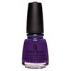 China Glaze Dawn of a New Reign dark purple nail polish
