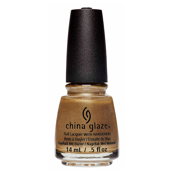China Glaze Truth is Gold nail polish Street Regal Collection
