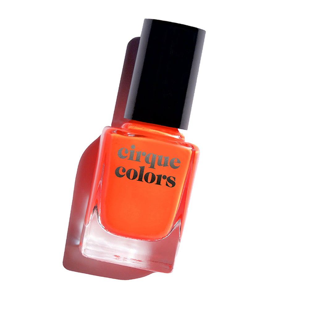 Cirque Colors Superfreak neon orange creme nail polish Vice 2020 Collection