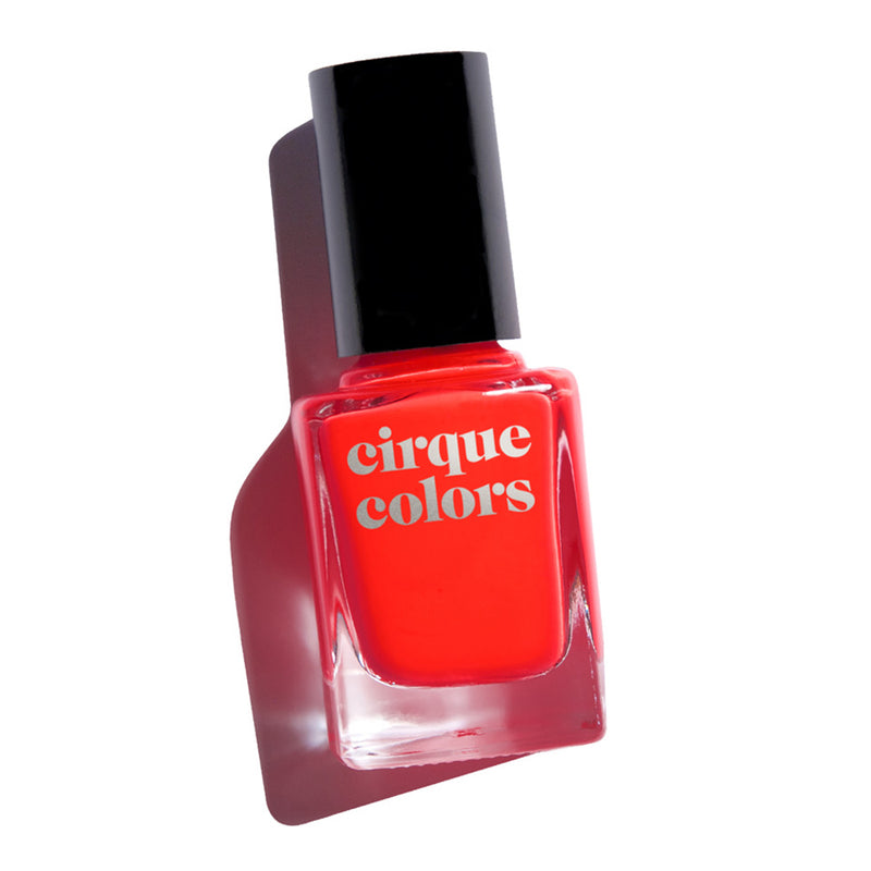 Cirque Colors Game Over red neon creme nail polish Vice 2019 Collection