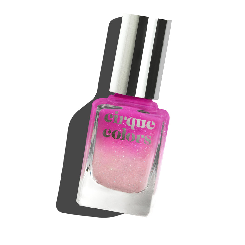 Cirque Colors La Vie En Rose thermal nail polish Planned Parenthood Collaboration