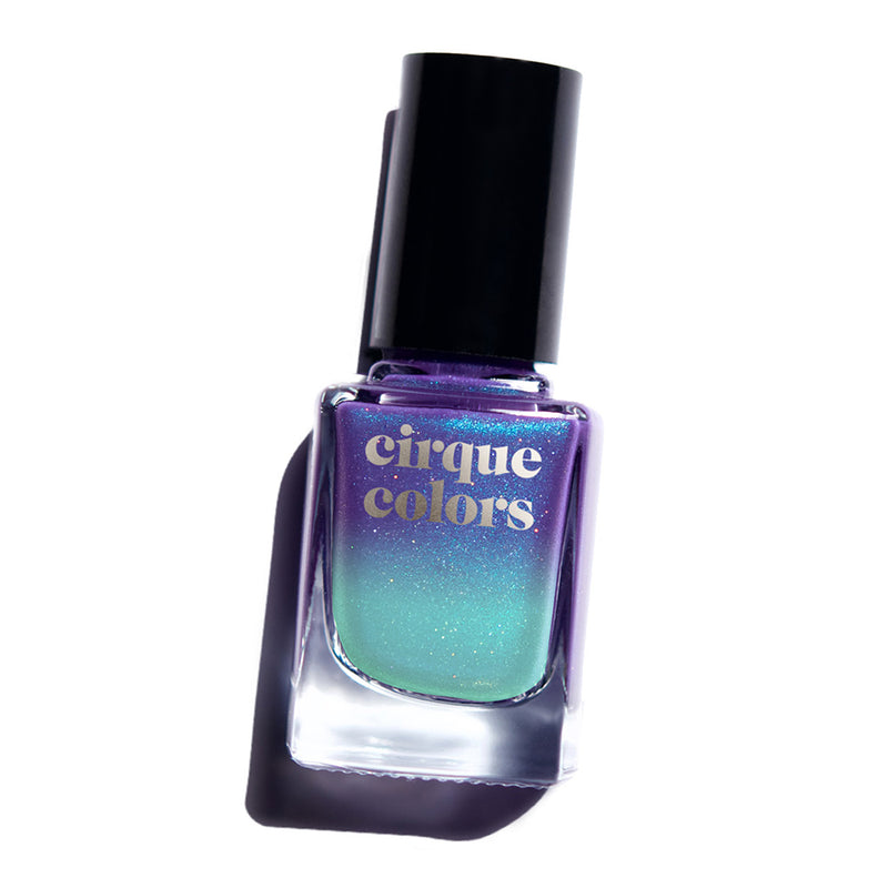 Cirque Colors Luna thermal nail polish Celestial Collection