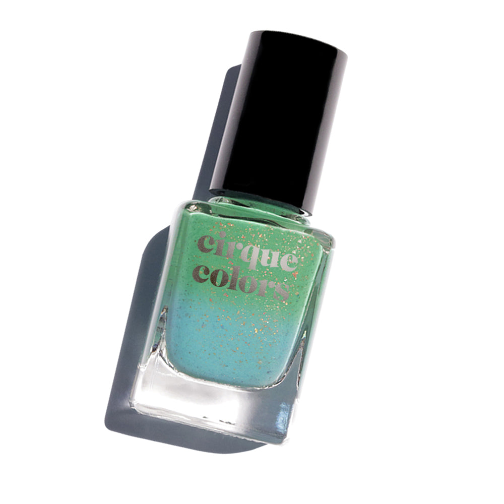 Cirque Colors Magic Turquoise thermal nail polish