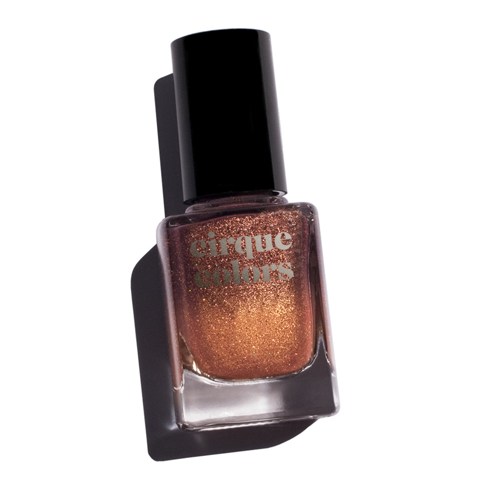 Cirque Colors Patina bronze thermal nail polish